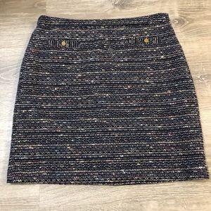 Loft mini skirt, gorgeous pattern